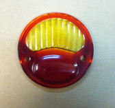 Taillight, Lens, Red/Amber, For Other Replica Cars