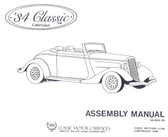 Assembly Manual, 34 Classic Cabriolet CMC