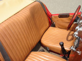Upholstery, MG Replica (Tan) Vinyl Square Style Seat Bottoms