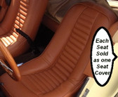 "Upholstery, Gazelle / SSK (All Vinyl) ""Tan"" Front Seat (Each)"