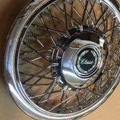 Wheel, Covers, Classic (Chrome) (Glue on Decal) Spoke ABS (Sets)
