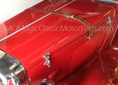 Hood Strap, Leather MG TD Replica