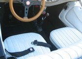 Upholstery, MG Replica (White)  Vinyl