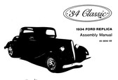 Assembly Manual, 1934 Classic 3 Window Coupe
