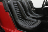 "Upholstery, Gazelle / SSK (All Vinyl) ""Black"" Front Seat (Each)"