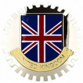 Badge, United Kingdom..