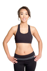 Core Bra - Black
