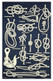 9273 GALLEY CLOTH KNOTS