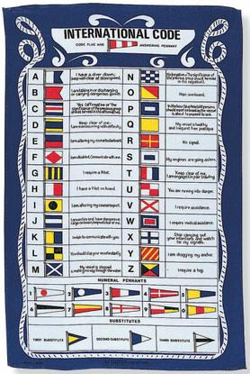 9271 GALLEY CLOTH CODE FLAG