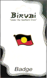 Pin - Aboriginal Flag