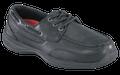 ESD, Men's Black Boat Shoe, STEEL TOE
