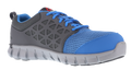 Men's Blue & Grey Sublite Cushion Work - Athletic Oxford with Alloy Toe