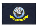 UNITED STATES NAVY 3ft x 5ft Nylon 1 ply Flag with GROMMETS
