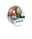 Philips H1 12v 55w LongLife EcoVision 4 x Lifetime (Twin Pack)