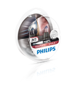 Philips H1 12v 55w Vision Plus Car Headlight Bulbs +60% More Light (Twin Pack)