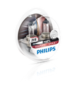 Philips H4 12v 60/55w Vision Plus Car Headlight Bulb +60% More Light (Twin Pack)
