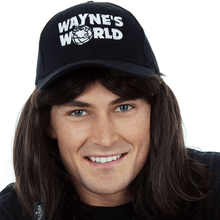 Waynes World Wayne Mens Costume Wig - by Allaura