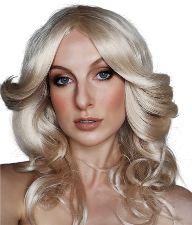 Farrah Fawcett 70's Blonde Costume Wig - by Allaura