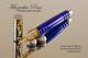 Deep Lapis with Gold fleck TruStone Rollerball Pen