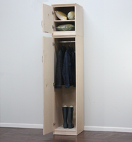Flat Iron Slim Wardrobe & Storage (left side)