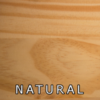 Natural Finish On Pine