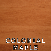 Colonial Maple Finish On Pine