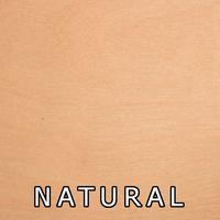 Natural Finish On Birch