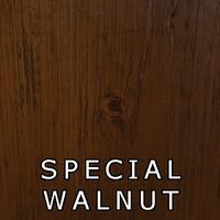 Special Walnut Finish On Pine