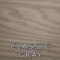 Classic Gray Finish On Oak