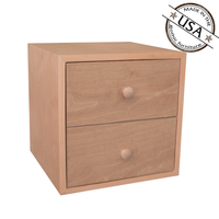 Modular Two Drawer Cube 15 x 15 x 15