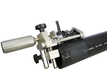 "1-1/4"" IPS - 4"" DIPS Capacity Adjustable Electrofusion Pipe Scraper"