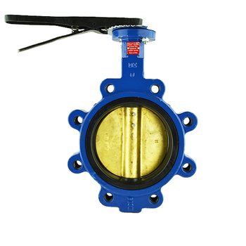 Lug Style Ductile Iron Butterfly Valve with Aluminum Bronze Disc