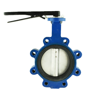 Lug Style Ductile Iron Butterfly Valve with 316 Stainless Steel Disc