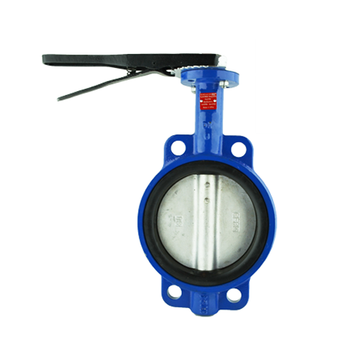 Wafer Style Ductile Iron Butterfly Valve with 316 Stainless Steel Disc