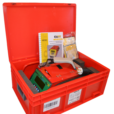 Elofit Electrofusion Welding Machine w/Barcode Scanner and