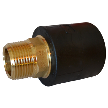Hdpe Socket Fusion x Male Pipe Threaded Transition MPT