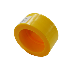 Yellow MDPE Socket Fusion End Cap PE2708