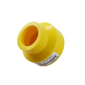 Yellow MDPE Socket Fusion Reducer Coupling PE2708