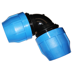 Polypropylene Compression 90 Degree Elbow for IPS HDPE Pipe