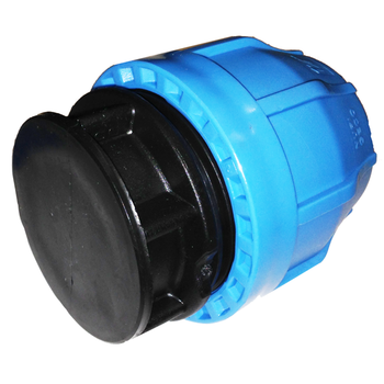 Polypropylene Compression End Cap for IPS HDPE Pipe