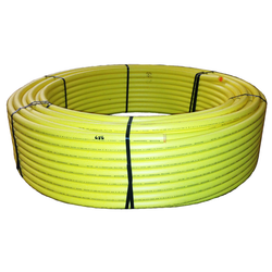 Yellow MDPE PE2708 Gas Pipe Medium Density Polyethylene