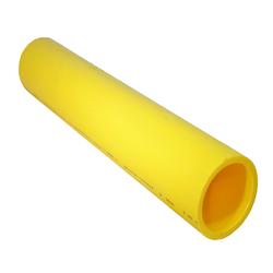 Yellow MDPE PE2708 Gas Pipe Medium Density Polyethylene Straight Length