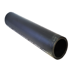 Black Hdpe PE4710 Water Pipe Straight Lengths