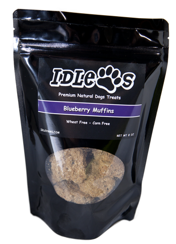 Blueberry Muffin All Natural Dog Treat