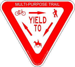 Image result for multipurpose trail sign