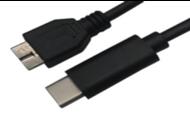 USB3.1 CM TO USB3.0 MiCRO BM 3-ft