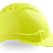 Hard Hat Vented  fluoro yellow