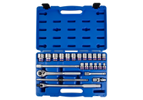 6point socket set KING TONY Industrial quality