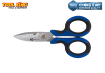 Electricians tradesmans scissors KING TONY