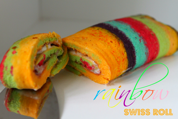 Rainbow Swis Roll